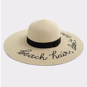 Beach Hair, Don't Care Sun Hat